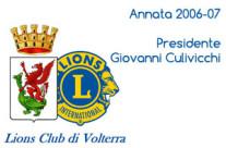 Annata 2006-07 Presidente Giovanni Culivicchi