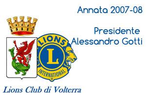 Annata 2007-08 Presidente Alessandro Gotti