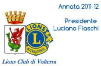 Annata 2011-12 Presidente Luciano Fiaschi